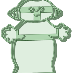 6_e.png Download STL file In the night garden 6 cookie cutter • 3D print template, osval74