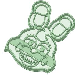 Fichier imprimante 3D cinq nuits à l'emporte-pièce Freddy's, osval74