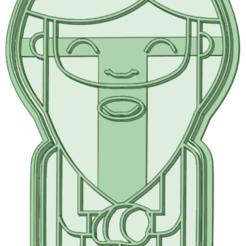 3_e.png Télécharger fichier STL Roi Sorcier 3 emporte-pièce 15cm • Objet à imprimer en 3D, osval74