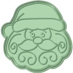 Papa Noel_e.png Télécharger fichier STL L'emporte-pièce du Père Noël • Plan imprimable en 3D, osval74