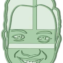 Portrait.png Télécharger fichier STL Découpeur de portraits sur mesure • Objet à imprimer en 3D, osval74