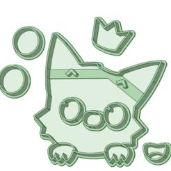 4_e.png Télécharger fichier STL Bébé requin 4 Coupe fondante • Objet à imprimer en 3D, osval74