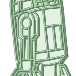 Télécharger fichier 3D R2D2 emporte-pièce à l'emporte-pièce, osval74