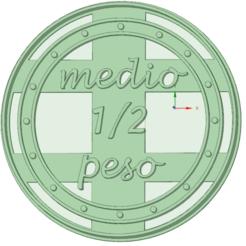 Télécharger fichier imprimante 3D 1/2 Poids Zenon Farm, osval74