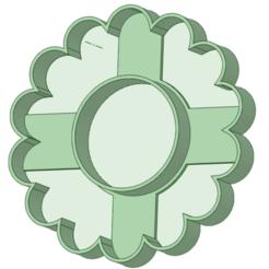 Frente.png Télécharger fichier STL Biscuits à la fauvette 6 cm devant et derrière • Modèle à imprimer en 3D, osval74