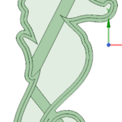 Download STL files Sea Horse cookie cutter, osval74