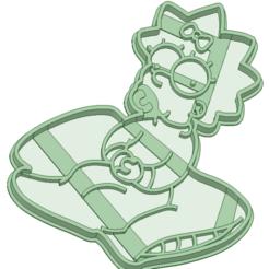 Archivos 3D Maggie cookie cutter, osval74