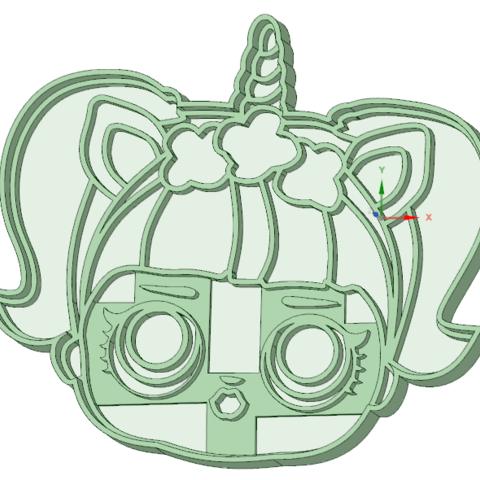 Objet 3D Lol cara 7 emporte-pièce à l'emporte-pièce, osval74