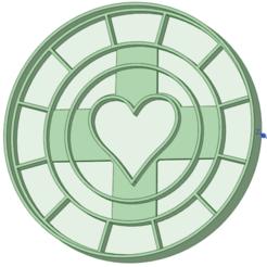3D printer files casino card corazon cookie cutter, osval74