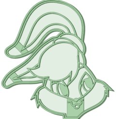 Download 3D printing designs Lola Bunny cookie cutter, osval74