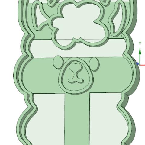 Fichier imprimante 3D Emporte-pièce à biscuits pour la face des moutons, osval74