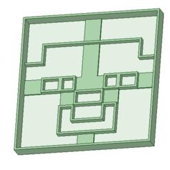 Fichier STL Minecraft 1 emporte-pièce à biscuits, osval74