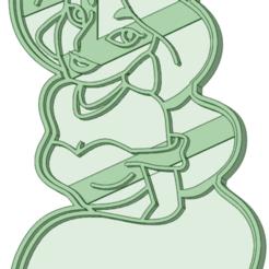 Jasmine_e.png Télécharger fichier STL L'emporte-pièce Princesse Jasmine • Plan à imprimer en 3D, osval74