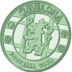 Download STL files Chelsea football club cookie cutter, osval74