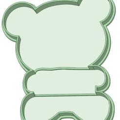 Panda cartel_e.png Télécharger fichier STL Panda avec cutter pour coolie de contour • Objet imprimable en 3D, osval74