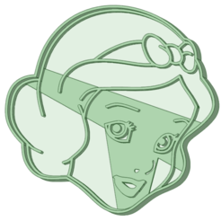 Blancanieves.png Download STL file Snow White cookie cutter • Design to 3D print, osval74