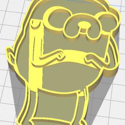 jake_2.png Download STL file Jake cookie cutter • 3D print model, osval74