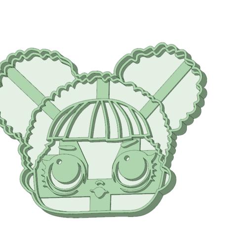 Descargar modelos 3D para imprimir Lol 1 cara cookie cutter, osval74