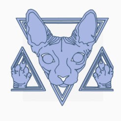 dgd.png Download free OBJ file cat • 3D printing template, drackacuos