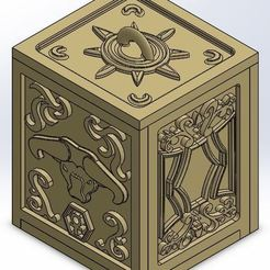 Download 3D printing templates Box Golden Taurus, rsoledad23
