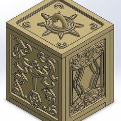 STL files Box Golden Pound, rsoledad23