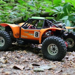 IMG_2998.jpg Download STL file Axial Capra Baja Body Kit • 3D print template, VeloRex