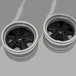 Fuchsfelge v9.png Télécharger fichier STL Tamiya M-Chassis Rim / Felge Porsche Fuchs Design • Objet imprimable en 3D, VeloRex