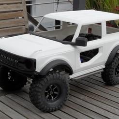 SAM_5034.JPG Télécharger fichier STL Ford Bronco 2021 • Modèle à imprimer en 3D, VeloRex