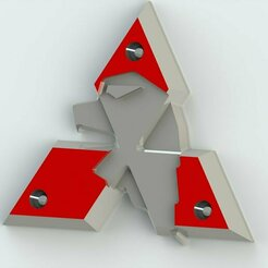 mitsubishi_3d_model_c4d_max_obj_fbx_ma_lwo_3ds_3dm_stl_2063801_o.jpg Download STL file mitsubishi mirage logo • 3D print object, MetalRust3d