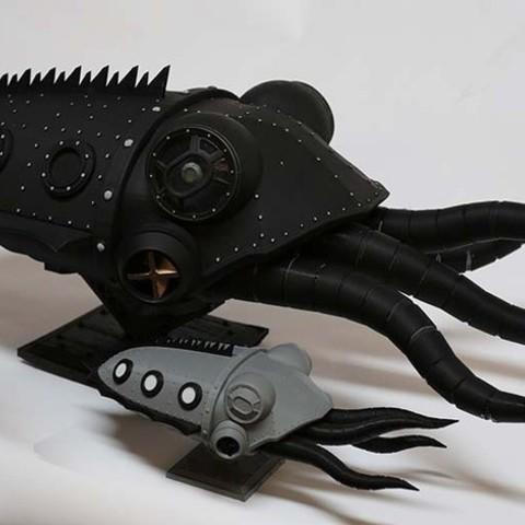 Télécharger STL gratuit Gowanus Monster - Série Margo, boldmachines