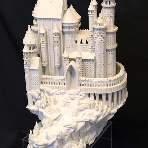 Castle_005_display_large.JPG Download free STL file Medieval Castle • 3D printable model, boldmachines