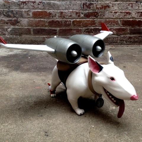 Free STL file Bold Machines: Margo's Dog named Eddie, boldmachines