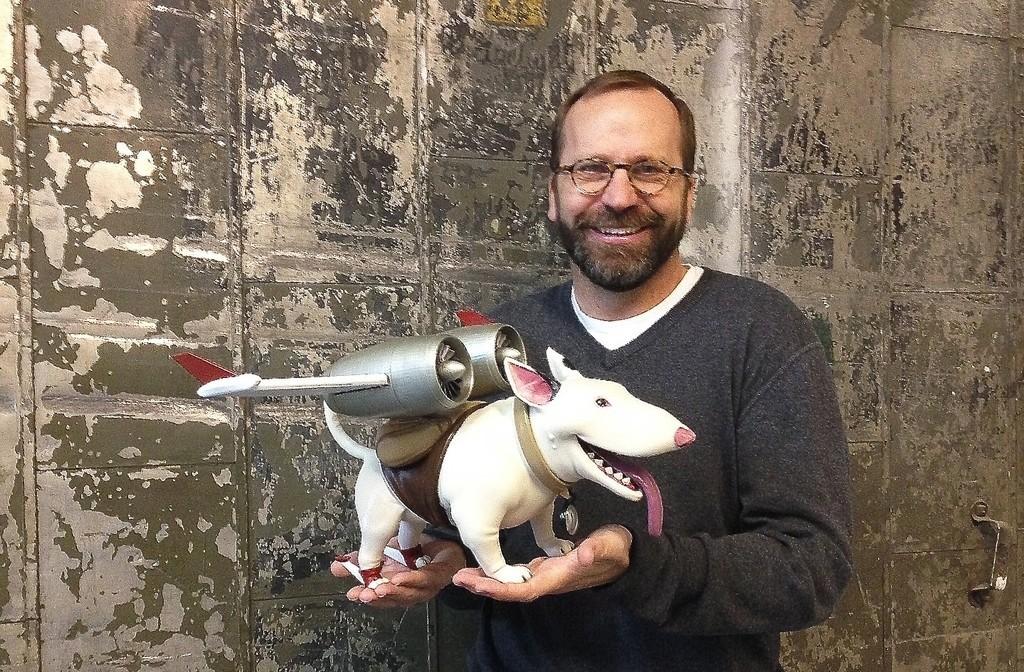 Rob_display_large.jpg Download free STL file Bold Machines: Margo's Dog named Eddie • 3D printer model, boldmachines