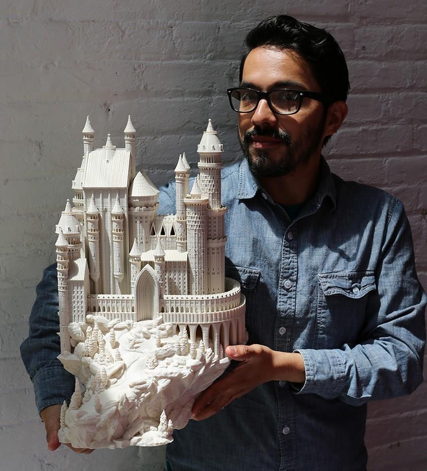 Castle_Scale_Geo2_display_large.jpg Download free STL file Medieval Castle • 3D printable model, boldmachines