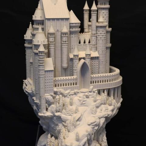 Castle_002_display_large.JPG Download free STL file Medieval Castle • 3D printable model, boldmachines