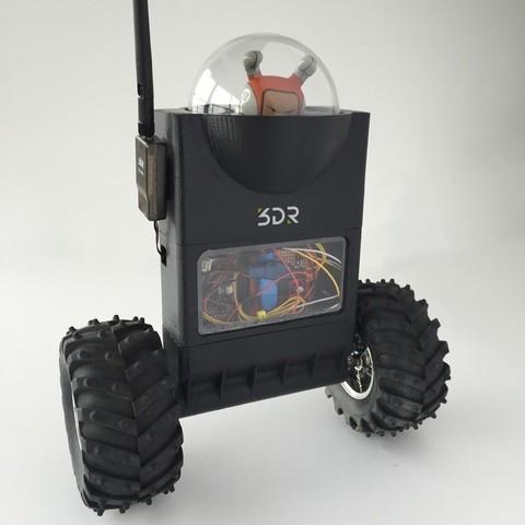 Free 3D printer model ArduRoller: Self-Balancing Robot, MAKE