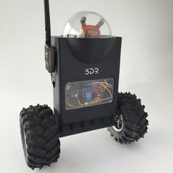 Fichier imprimante 3D gratuit ArduRoller : Robot Auto-équilibrant, MAKE