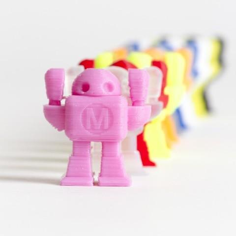 Robot_Montage_MG_4616_display_large.jpg Download free STL file Maker Faire Robot • 3D print design, MAKE