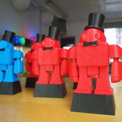Free 3D printer files Makeys Trophy 2011, MAKE
