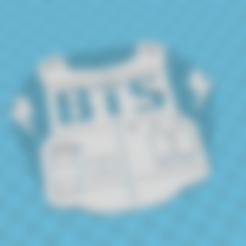 Download free 3D printer designs BTS, paalvarados