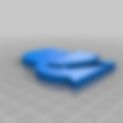 Karl_Lagerfeld_head.stl Télécharger fichier STL gratuit Logo de la tête de Karl Lagerfeld • Plan imprimable en 3D, hessevalentino