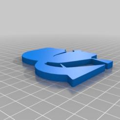Télécharger fichier 3D gratuit Logo de la tête de Karl Lagerfeld, hessevalentino