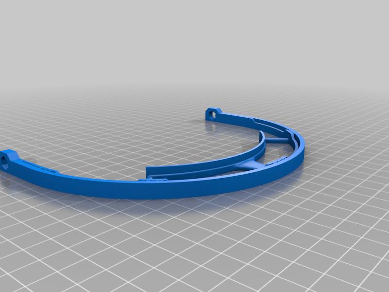 Face_shield_V1.png Télécharger fichier STL gratuit Covid-19 Écran facial - simple à imprimer • Plan à imprimer en 3D, hessevalentino