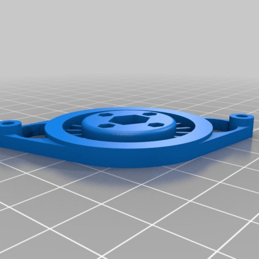Download free STL file HEX Anet A8 Cooling-fan cover V1 • Design to 3D print, hessevalentino