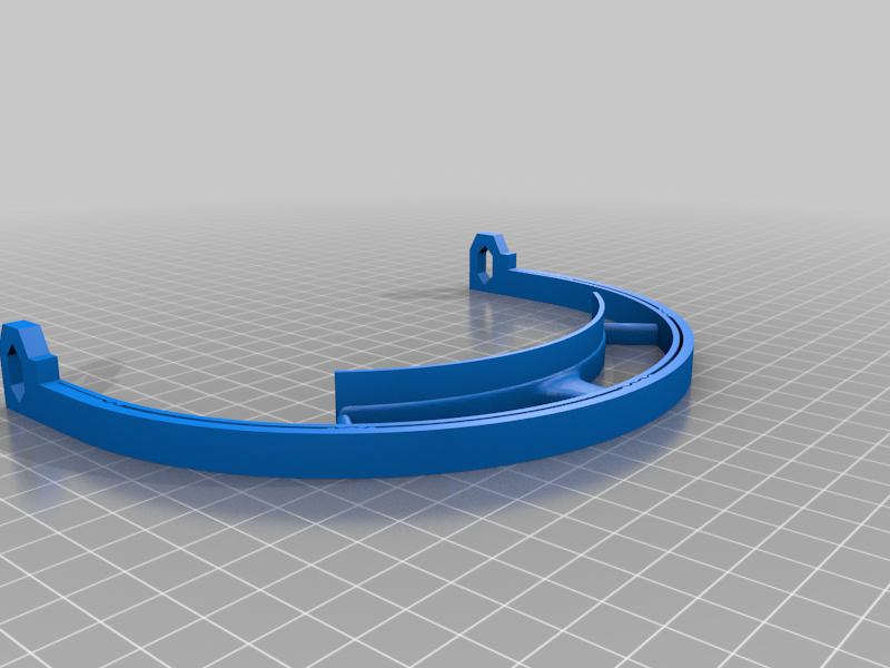 Face_shield_V3.png Télécharger fichier STL gratuit Covid-19 Écran facial - simple à imprimer • Plan à imprimer en 3D, hessevalentino