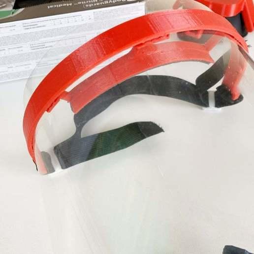 IMG_9288.jpg Télécharger fichier STL gratuit Covid-19 Écran facial - simple à imprimer • Plan à imprimer en 3D, hessevalentino