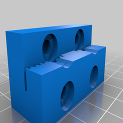Download free 3D printer designs Anet A8 Anet AM8 Y belt holder, hessevalentino