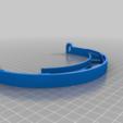 Face_shield_V2.png Télécharger fichier STL gratuit Covid-19 Écran facial - simple à imprimer • Plan à imprimer en 3D, hessevalentino