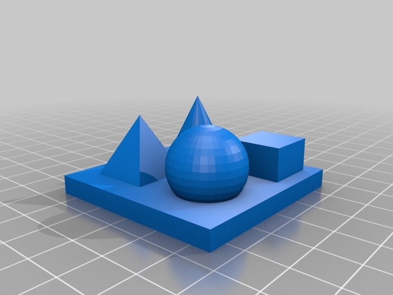 062d748caeaba7bc9fcd62a1fb1568cc.png Télécharger fichier STL gratuit Plaque de base 50 mm pour l'impression test PLUS DE FORMES • Design imprimable en 3D, hessevalentino