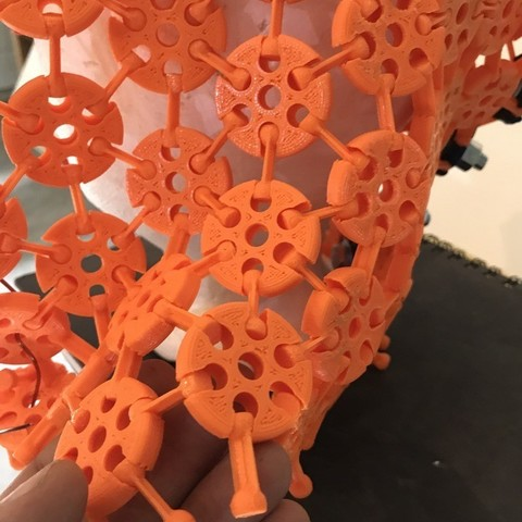 f8b92542b99f14a7057d61cae246b1fb_display_large.JPG Download free STL file 3d printed fabric / armour prints assembled • 3D printer model, drewrokebythomas